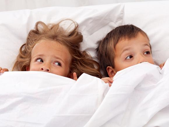 Когато детето го е страх да си легне